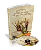 Getting Introduced To Oil Painting eBook with private label rights