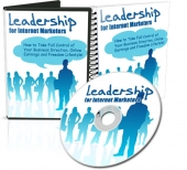 Leadership For Internet Marketers Video with Master Resale Rights