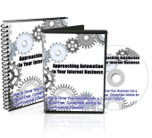 Approaching Automation In Your Internet Business Video with Master Resale Rights