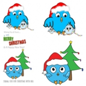 Christmas Tweet Graphics Graphic with Master Resale Rights
