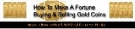 Buying And Selling Gold Coins eBook with Master Resell Rights