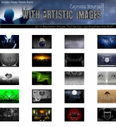 20 Hi Resolution Images Graphic with Master Resale Rights