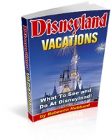 Disneyland Vacations eBook with private label rights