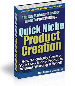 Quick Niche Product Creation