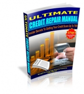 Ultimate Credit Repair Manual eBook with private label rights