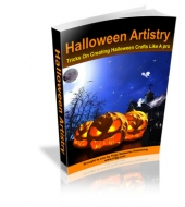 Halloween Artistry eBook with private label rights