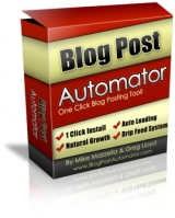 Blog Post Automator Software with Master Resale Rights