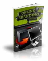 Online Branding Secrets eBook with private label rights