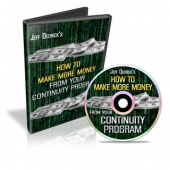 How To Make More Money From Your Continuity Program Video with Master Resale Rights