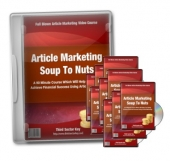 Article Marketing Soup To Nuts Video with Master Resale Rights