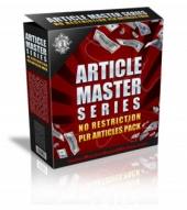 Article Master Series : Volume 11 Gold Article with private label rights