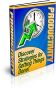 Productivity eBook with Private Label Rights