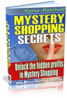 Mystery Shopping Secrets eBook with Master Resell Rights