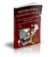 List Exploding Squeeze Page Secrets eBook with Private Label Rights