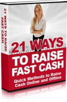 21 Ways To Raise Fash Cash eBook with Master Resell Rights