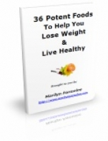 36 Potent Foods To Help You Lose Weight & Live Healthy eBook with Private Label Rights