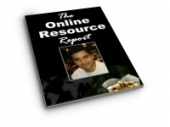 The Online Resource Report eBook with Giveaway Rights