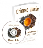 Chinese Herbs eBook with private label rights