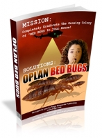 Oplan Bed Bugs eBook with private label rights