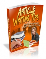 Article Writing Tips eBook with Master Resale Rights