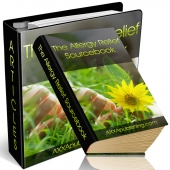 The Allergy Relief Sourcebook eBook with private label rights