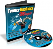 Twitter Business Magic Video with Resale Rights