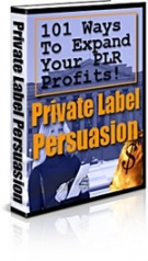 Private Label Persuasion eBook with private label rights