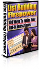 List Building Firepower eBook with Master Resell Rights