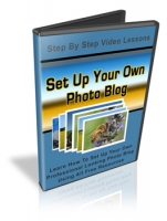 Set Up Your Own Photo Blog Video with Personal Use Rights