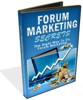 Forum Marketing Secrets Video with Master Resale Rights