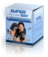 Super Help Desk Girl Software with Private Label Rights