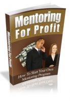 Mentoring For Profit eBook with private label rights