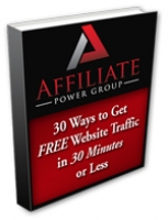 30 Ways To Get Free Traffic In 30 Minutes Or Less eBook with Giveaway Rights