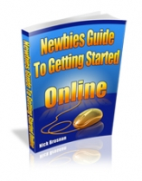 Newbies Guide To Getting Started Online eBook with Giveaway Rights