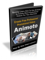 Create Free Professional Promotional Videos Animoto Video with Personal Use Rights