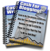Cash For Blogging and Writing! eBook with Master Resale Rights