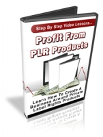 Profit From PLR Products Video with Personal Use Rights
