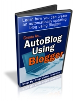 Create An AutoBlog Using Blogger Video with Personal Use Rights