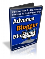 Advanced Blogger Blogging Video with Personal Use Rights