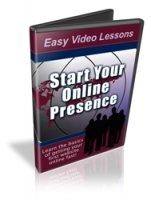 Start Your Online Presence Video with private label rights