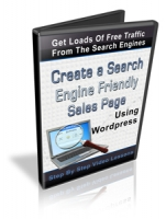 Create A Search Engine Friendly Sales Page Using Wordpress Video with Personal Use Rights