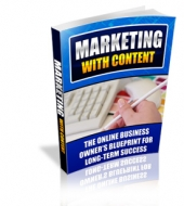 Marketing With Content eBook with Personal Use Rights