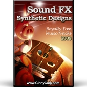 Sound FX Synthetic Designs Video with Personal Use Rights