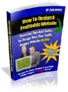 How To Design A Profitable Website eBook with Master Resell Rights