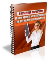 Boost Your Self Esteem eBook with Master Resale Rights