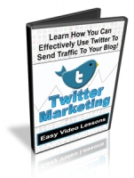 Twitter Marketing Video with Personal Use Rights