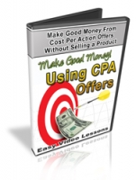 Make Good Money Using CPA Offers Video with Personal Use Rights