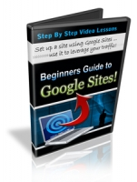 Beginners Guide To Google Sites! Video with Personal Use Rights