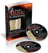 From Music To Marketing eBook with Private Label Rights