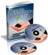 From The Foundation Up eBook with Private Label Rights